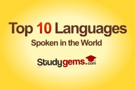 Top 10 spoken languages in world