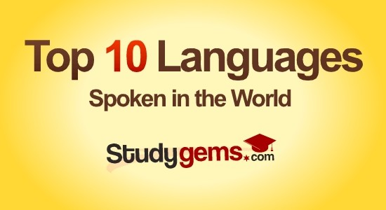 Top 10 spoken languages in world