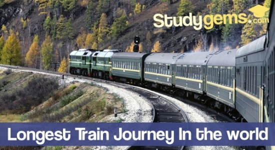 List of 30 Longest Train Journey in World
